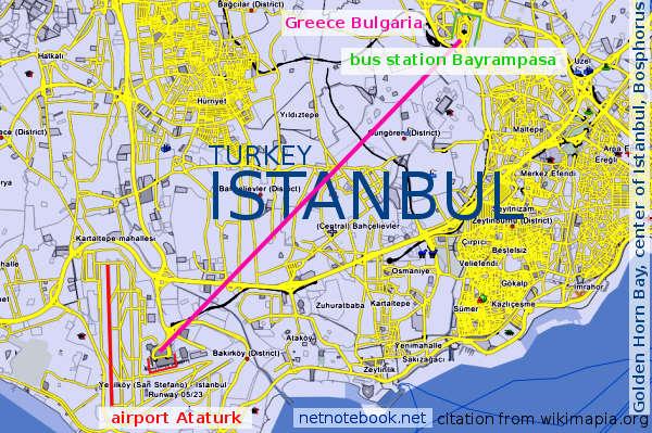 Схема проезда - карта